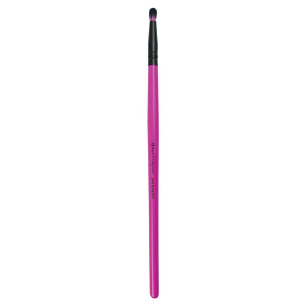 Full view of Pink Essentials™ Smudger makeup brush facing left