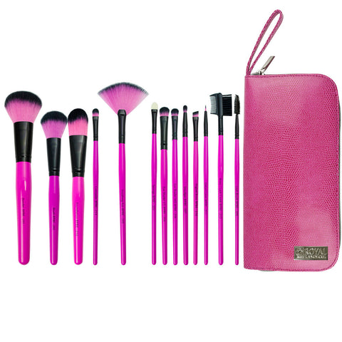 BPBE-SET13TS - Pink Essentials™ Synthetic 14pc Travel Kit