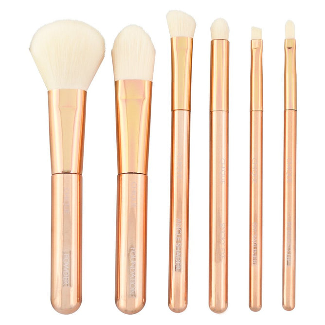 BQU-SETR201 - Chique™ RoseGold 7pc Total Face Kit