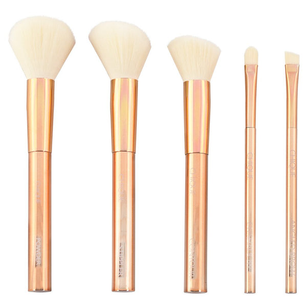 Chique™ RoseGold 6pc Face Fix Kit Makeup Brushes