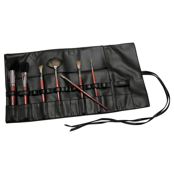 BWRAP-13BK - Black 13-Pocket Brush Wrap