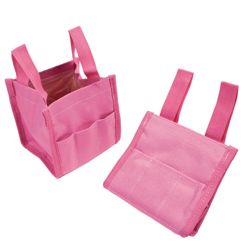 Pink Collapsible Water Bucket