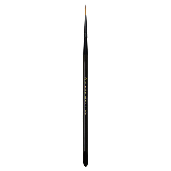 Majestic™ Short Liner S2 Full view of Majestic™ Short Liner Size 2 face art brush facing upward