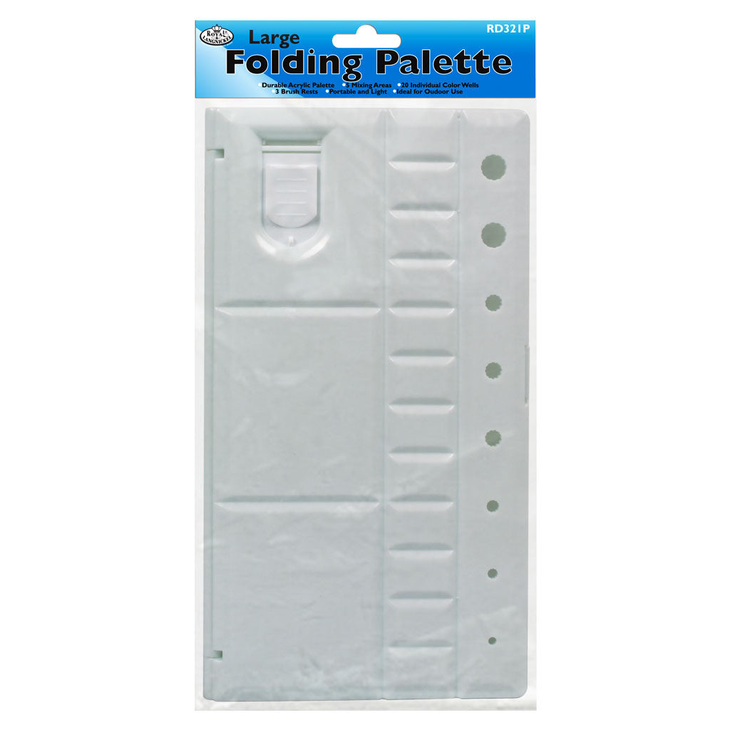 Large Folding Palette - 28 Wells retail packaging