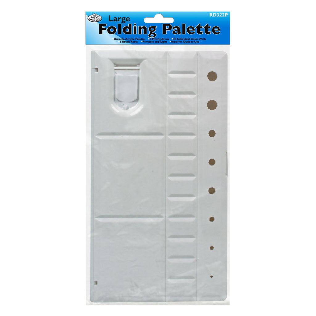 Large Folding Palette - 20 Wells retail packaging