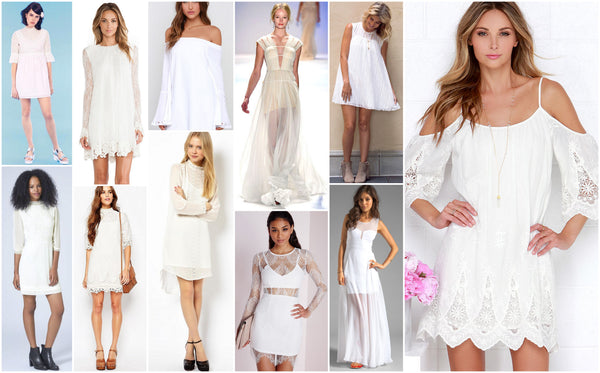 b36938767ed You Bought The Perfect White Dress! Now What ! April 28 2016