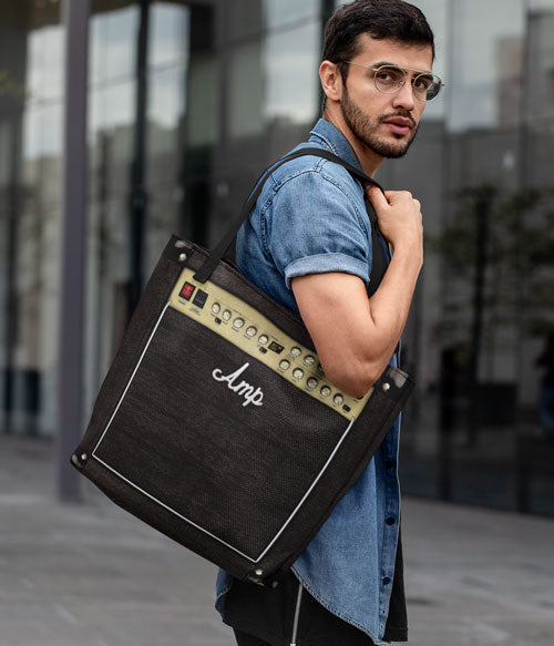Guitar Amplifier Tote Bag