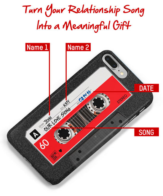 Mixtape custom phone case