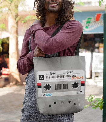 Personalize your Cassette Tote Bag
