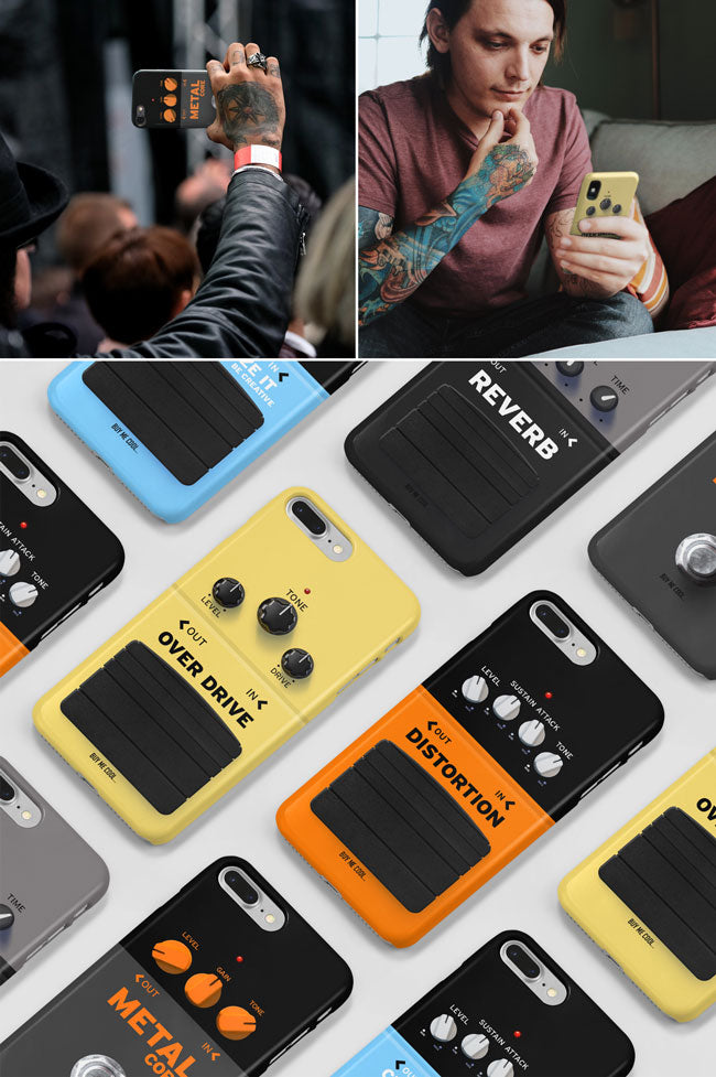 Guitar Effects Pedal Phone Case Collection