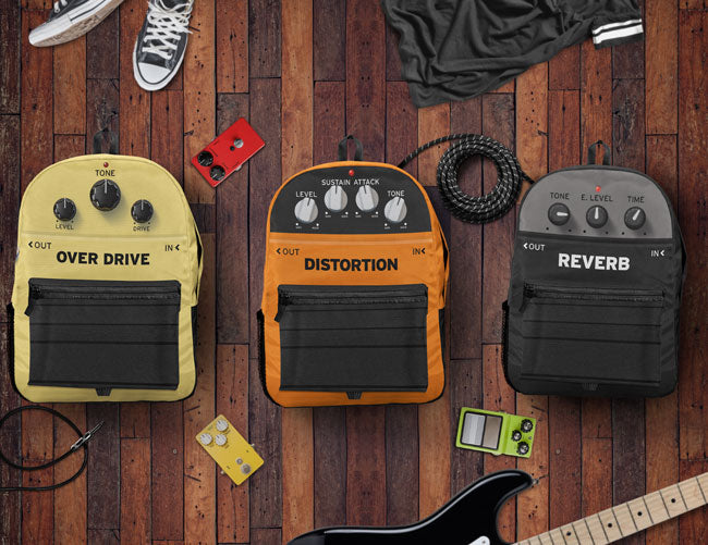 Guitar Pedal Effects Backpack Collection