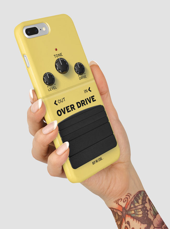 Over Drive Guitar Effect Pedal Phone Case