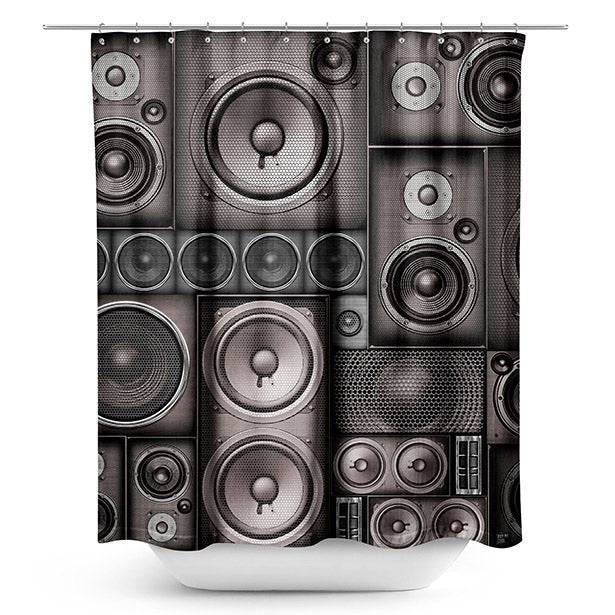 Speaker - Shower Curtain