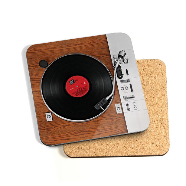 Turntable Wood - Coaster