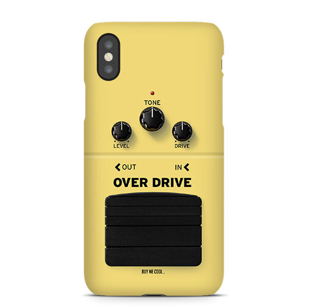 Pedal Over Drive - Phone Case