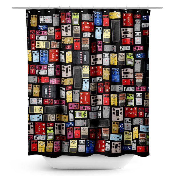 Pedal Board - Shower Curtain