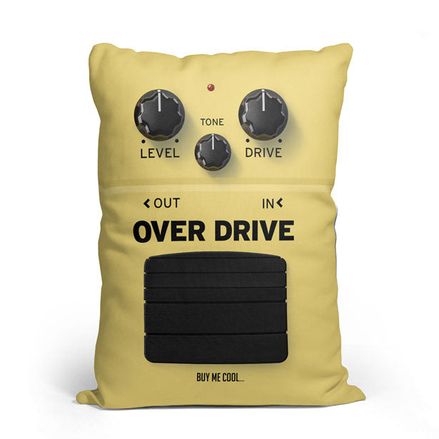 Pedal Overdrive - Throw Pillow