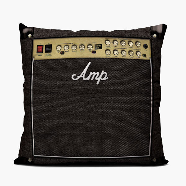 Amp - Throw Pillow