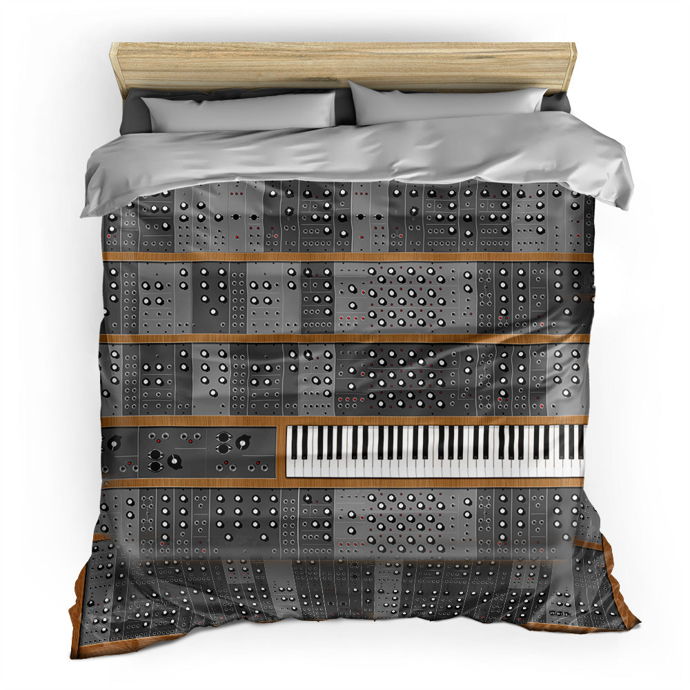 Big Synth - Duvet Cover