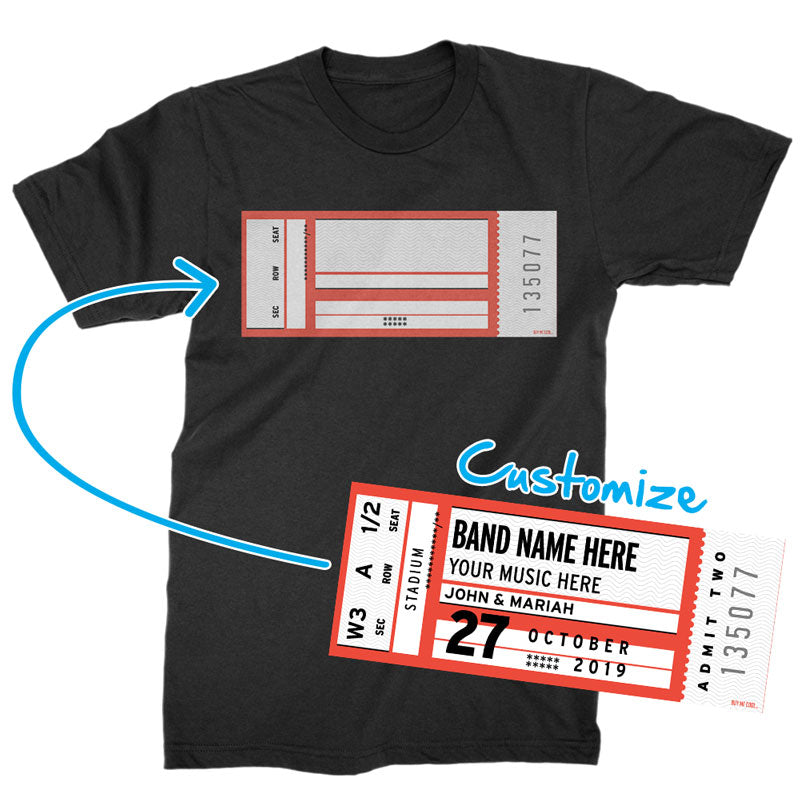 Concert Ticket - T-Shirt