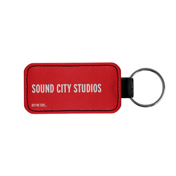 SOUND CITY STUDIOS - Tag Keychain