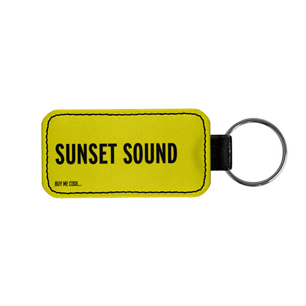 SUNSET SOUND - Tag Keychain
