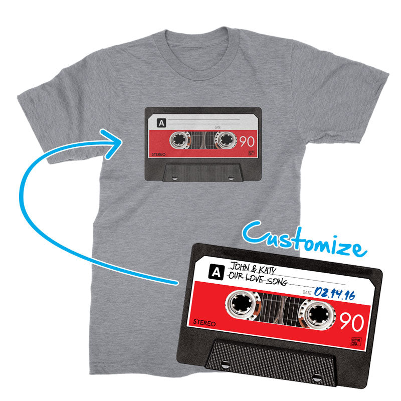 Cassette Tape Black - T-Shirt