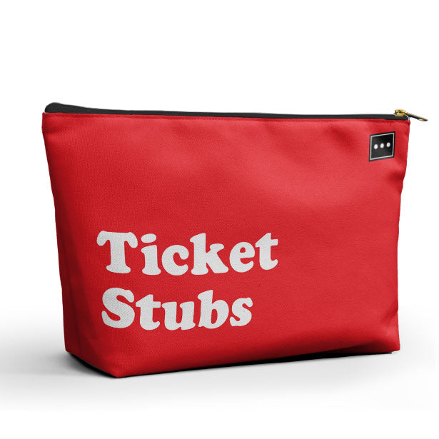 Ticket Stubs - Packing Bag