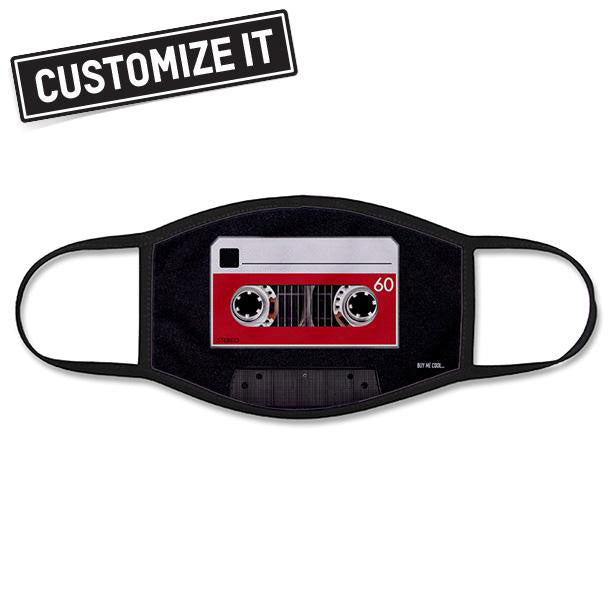 Cassette Tape - Face Mask