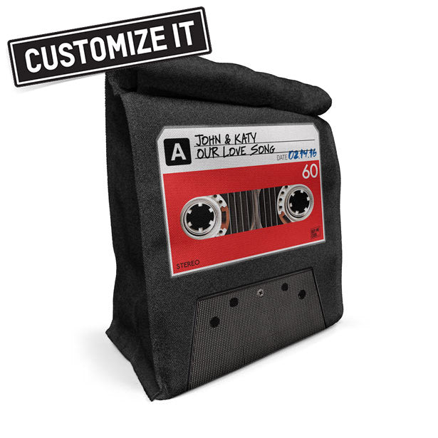 Cassette Tape - Lunch Bag