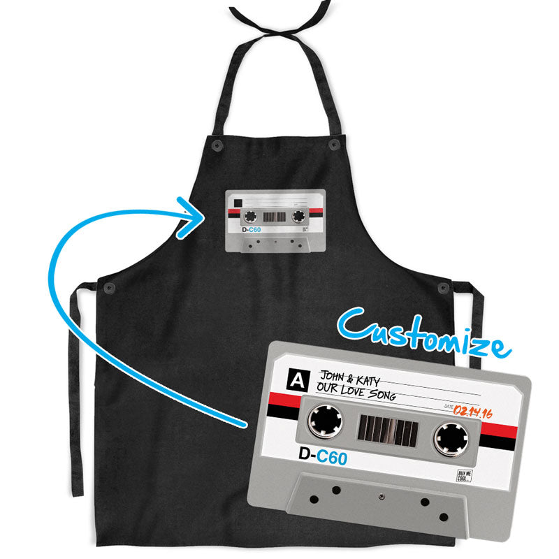 Cassette Tape - Kitchen Apron