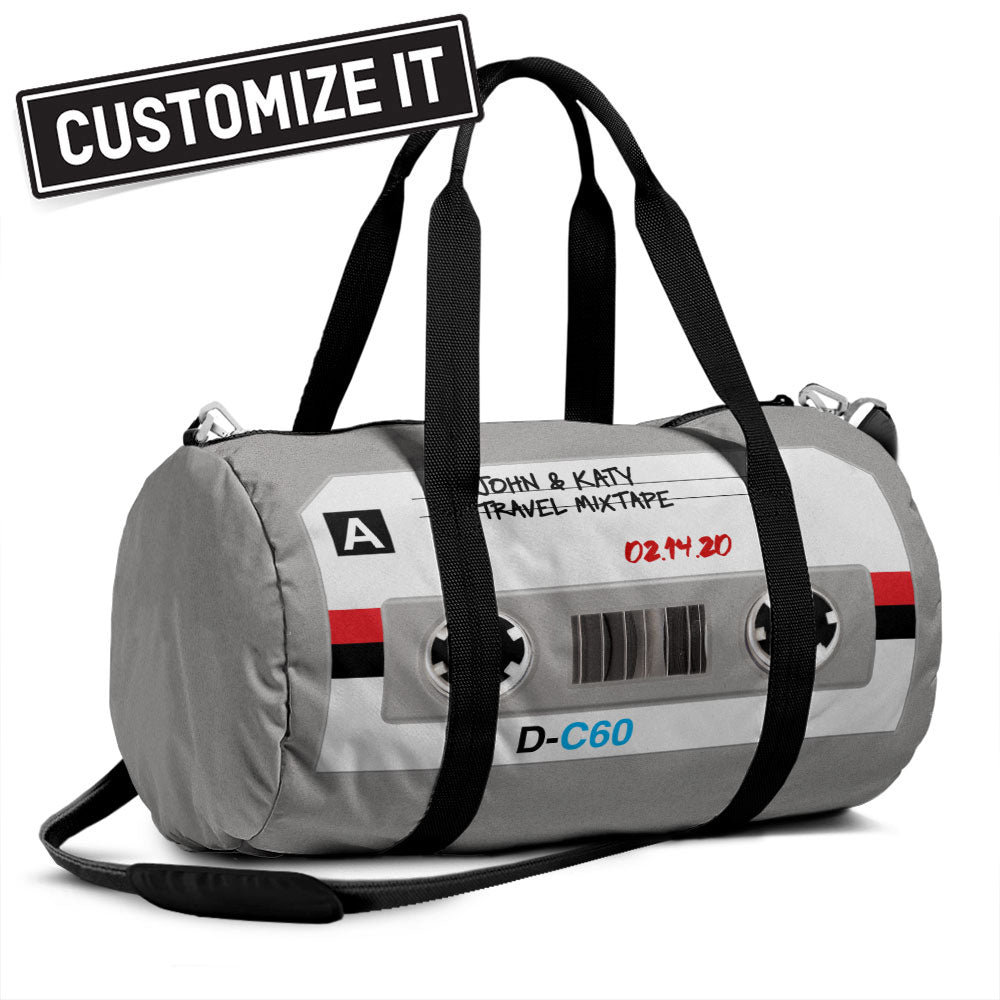 Cassette Tape - Duffle Bag