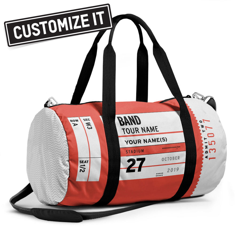 Concert ticket - Duffle Bag