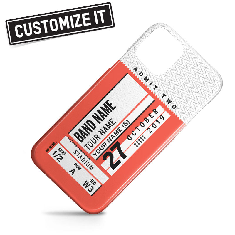 Concert Ticket - Phone Case
