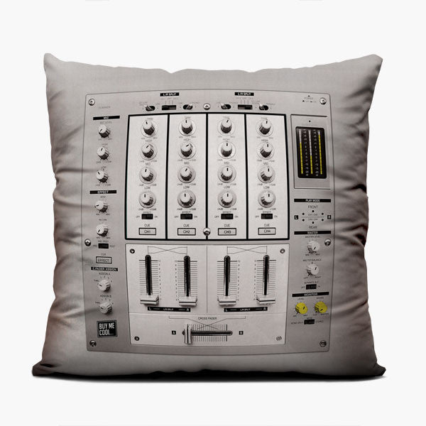 Dj Mixer - Throw Pillow