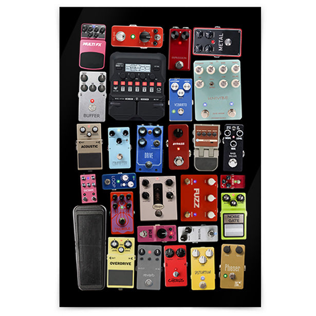 Pedal Board - Poster