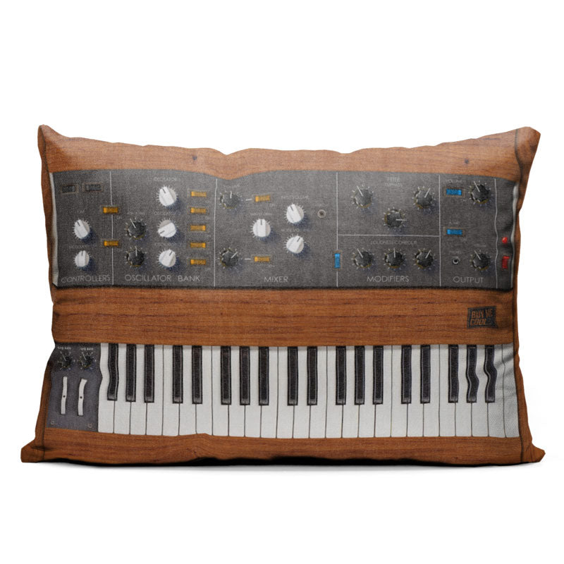 Mini Synth - Throw Pillow