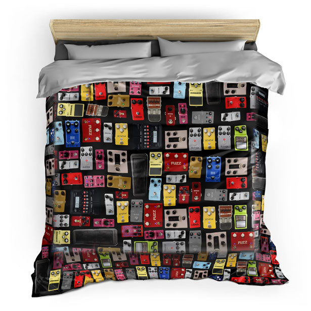 Pedal Board - Duvet Cover