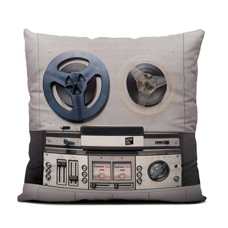 Reel to Reel - Throw Pillow