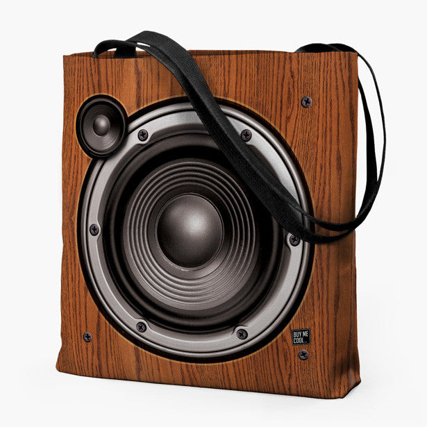 Wood Speaker - Tote Bag