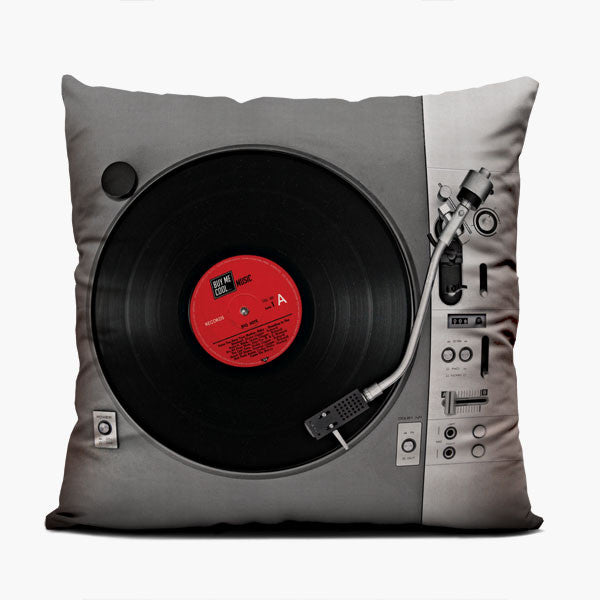 Turntable - Throw Pillow