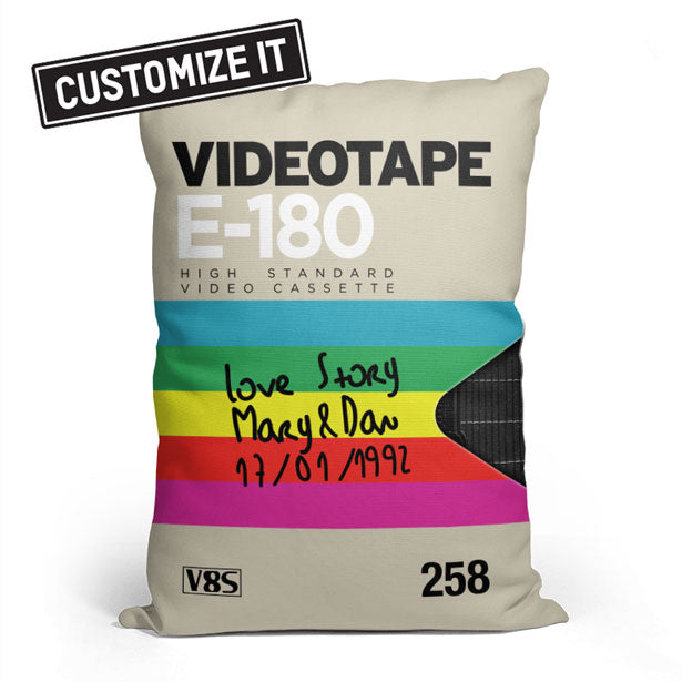 VHS 1 - Throw Pillow