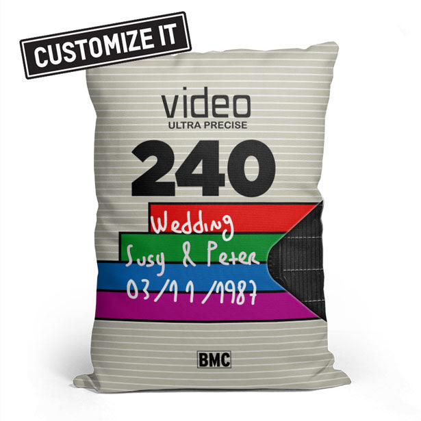 VHS 3 - Throw Pillow