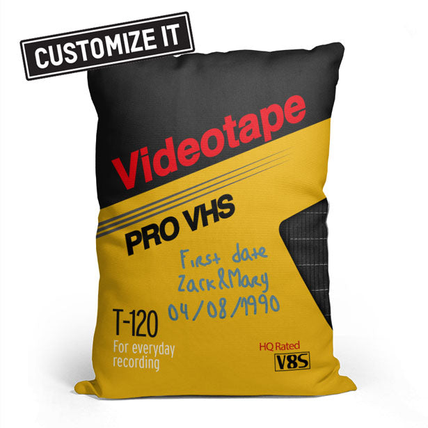 VHS 4 - Throw Pillow