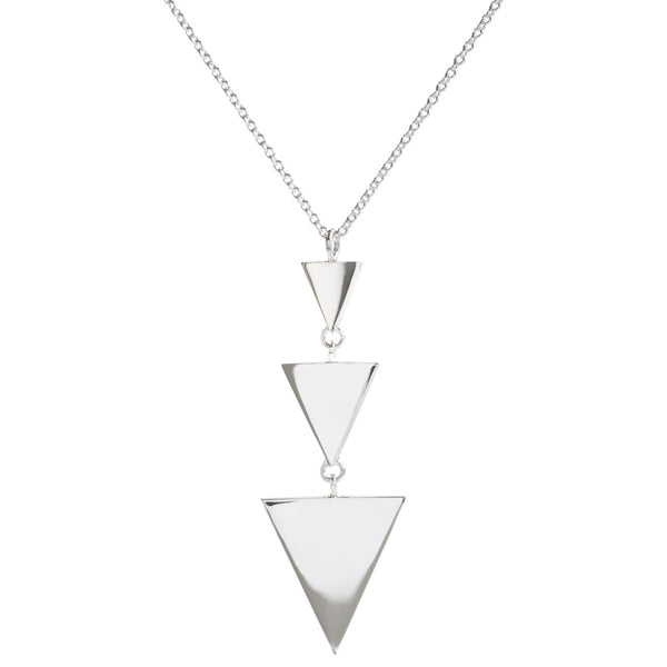 Metrica Three Triangle Necklace