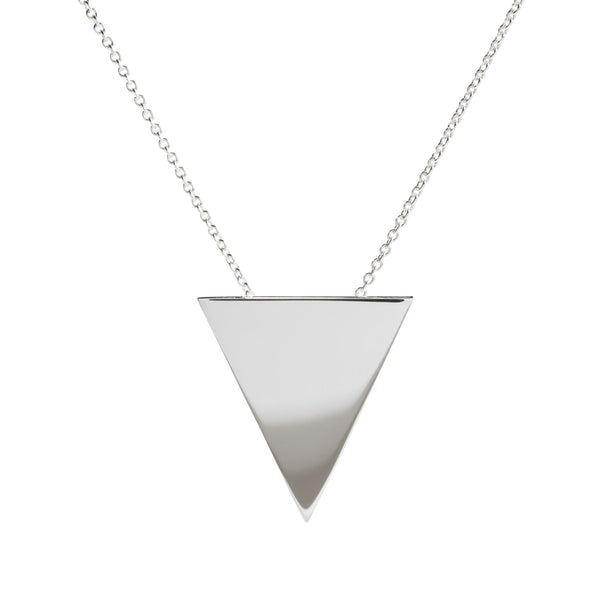 Metrica Triangle Necklace