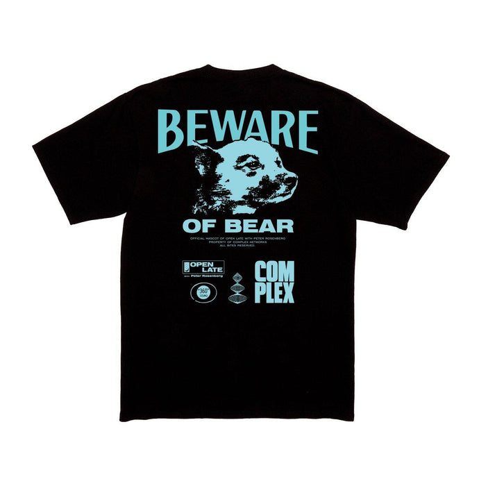Open Late Beware of Bear Tee