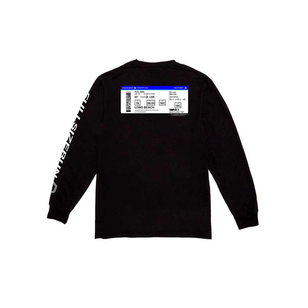 Full Size Run Full Flight Long Sleeve Tee