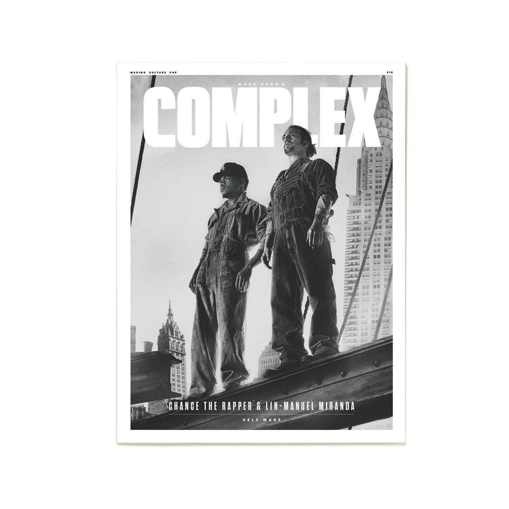 Chance the Rapper & Lin-Manuel Miranda/Priyanka Chopra- Complex Magazine Jun/Jul 2016