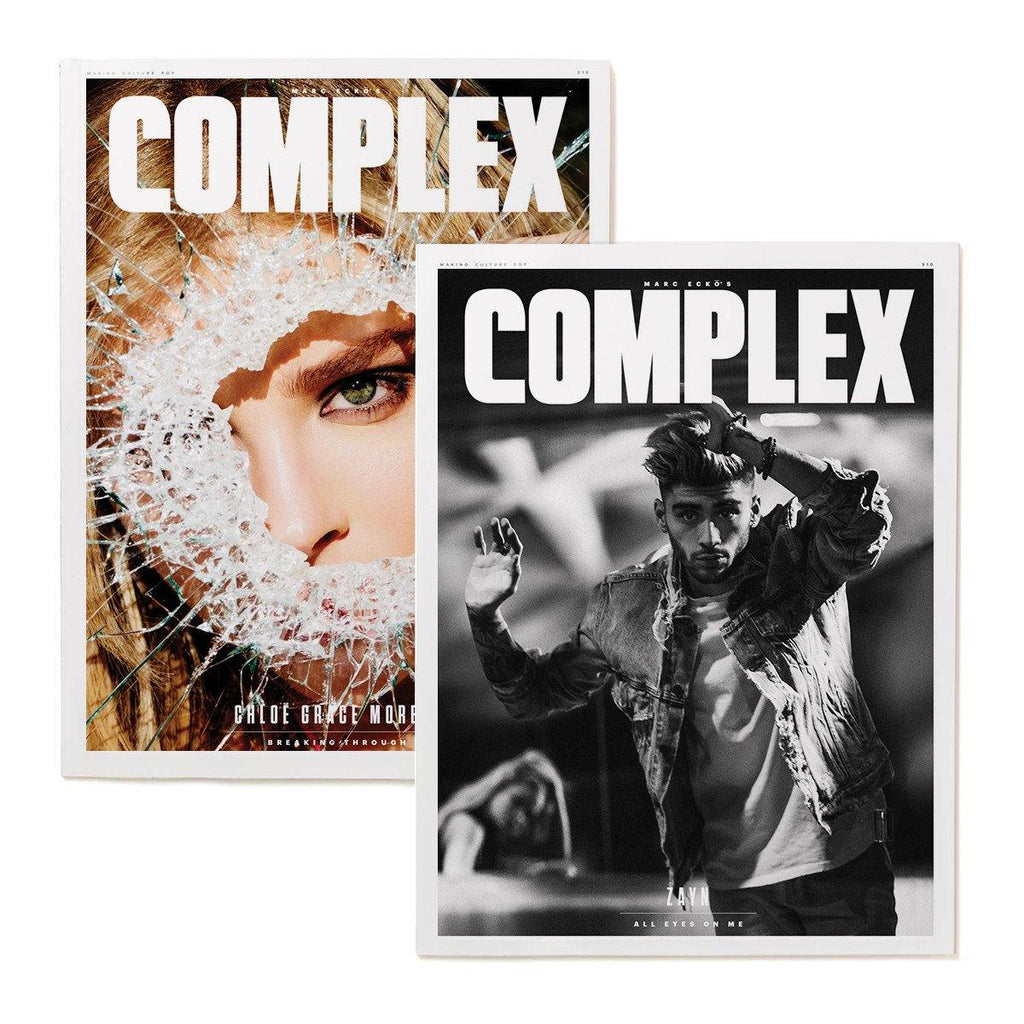 Zayn Malik/Chloe Grace Moretz- Complex Magazine Apr/May 2016